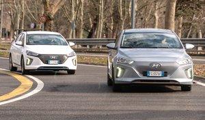 Hyundai Ioniq: confronto tra ibrida ed elettrica