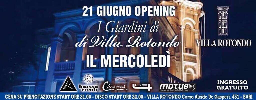 Evento a Villa Rotondo DS Night - Moving Center Group