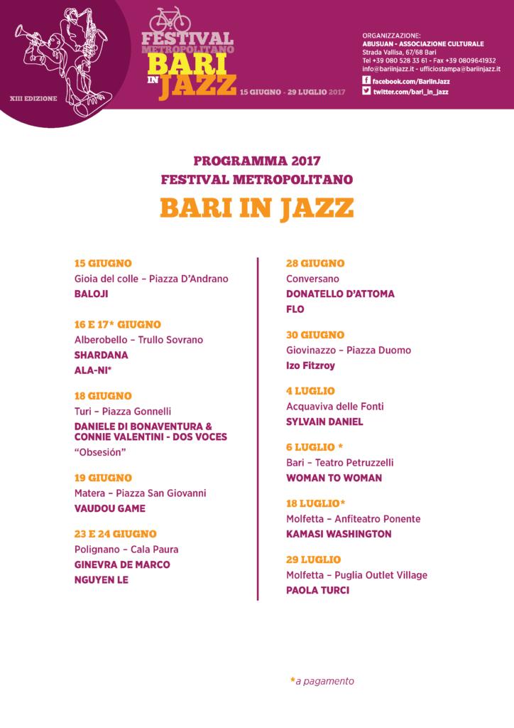 Festival Metropolitano Bari in Jazz - Moving Center Group