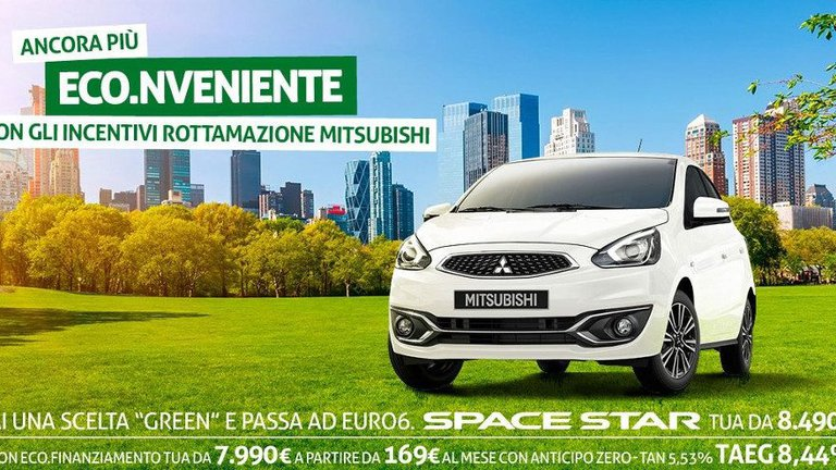 Scopri la promo su Mitsubishi Space Star