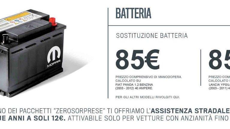 Promozione batteria auto