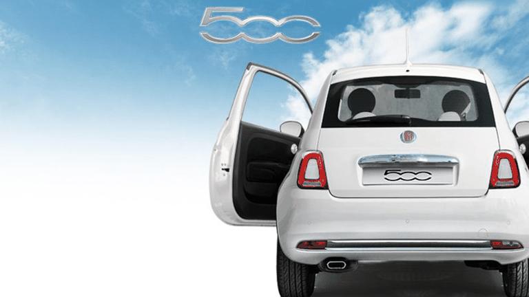 Fiat 500 be free a Bari