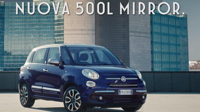 Scopri la promo su nuova Fiat 500L Mirror